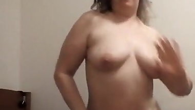 Big ass white bitch